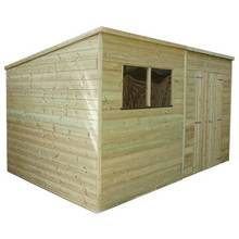 Mercia Pressure Treated Pent Shed - 12 x 6ft