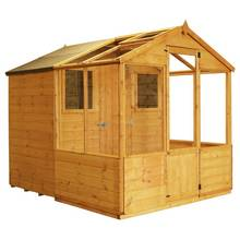 Mercia Greenhouse Combi Shed - 8 x 6ft