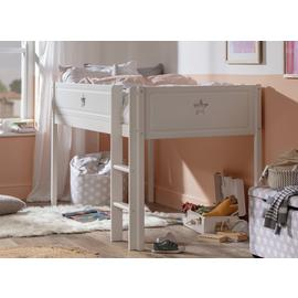 Argos Home Stars White Mid Sleeper Bed Frame