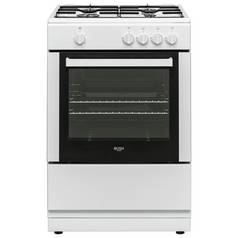 Bush BGC60SW 60cm Single Oven Gas Cooker - White