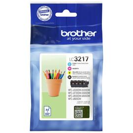 Brother LC3217 Ink Cartridges - Black and Colour