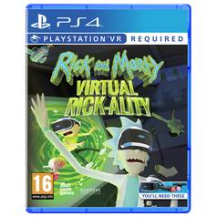 Rick and Morty: Virtual Rickality VR PS4 Game