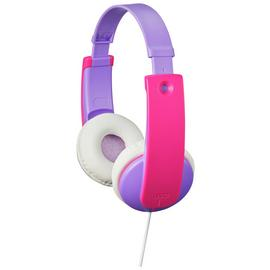 JVC Volume Limited Kids Headphones - Violet / Pink