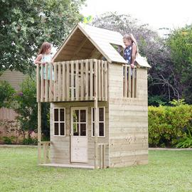 TP Loft Wooden Playhouse