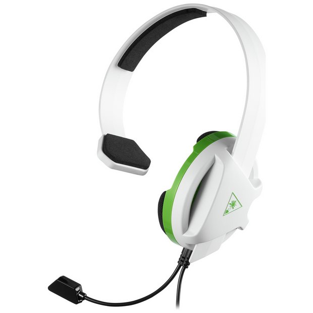 Buy Turtle Beach Recon Chat Xbox One, PS4, PC Headset White | Gaming headsets | Argos