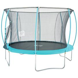 TP 12ft Hip Hop Trampoline with Enclosure