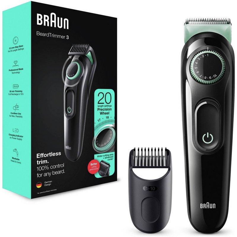 Braun BT3021 Beard Trimmer and Hair Clipper from Argos