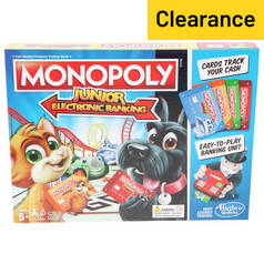 Monopoly Junior Electronic Banking from Hasbro Gaming