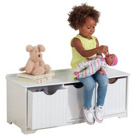 KidKraft Nantucket White Storage Bench