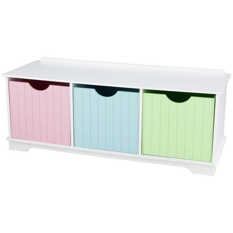 Buy Kidkraft Nantucket Pastel Storage Bench Kids Toy Boxes And