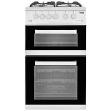 Beko KDVG592W Gas Cooker - White
