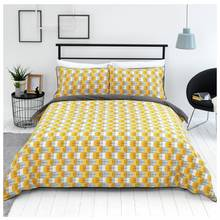 Sainsbury's Home Helsinki Geo Bedding Set - Single