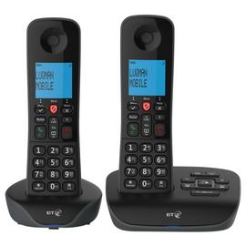 BT Essential Cordless Telephone & Answering Machine - Twin