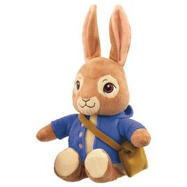 Beatrix Potter Peter Rabbit Talking Peter Soft Toy