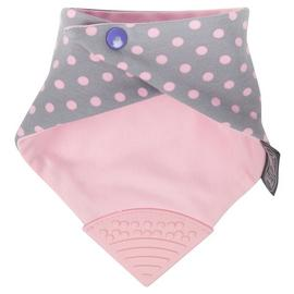 Cheeky Chompers Neckerchew Twin Pack - Pink