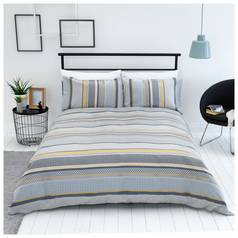 Sainsbury's Home Helsinki Jacquard Bedding Set - Kingsize
