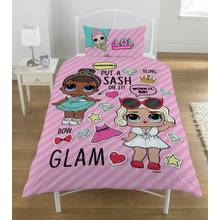 L O L Surprise Glam Duvet Set - Single