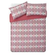 HOME Red Circle Bedding Set - Double