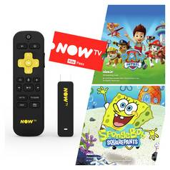 NOW TV Stick with 3 Month Sky Kids Pass