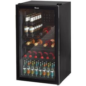 Swan SR12030BN Under Counter Fridge - Black