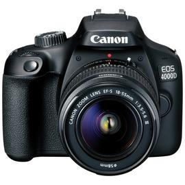 Canon EOS 4000D DSLR Camera Body with 18-55mm Lens