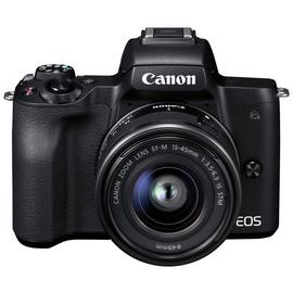Canon EOS M50 Mirrorless Camera with 15-45mm Lens