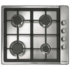 Candy CLG64SGX Gas Hob - Stainless Steel