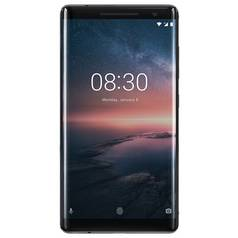 SIM Free Nokia 8 Sirocco 128GB Mobile Phone - Black