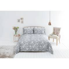 Sainsbury's Home Parisian Maison Grey Bedding Set- Superking