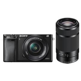 Sony A6000 Mirrorless Camera With 16-50mm & 55-210mm Lenses
