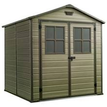 Keter Scala Plastic Garden Shed - 6 x 8ft Best Price, Cheapest Prices