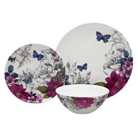 Argos Home Midnight Bloom Porcelain 12 Piece Dinner Set