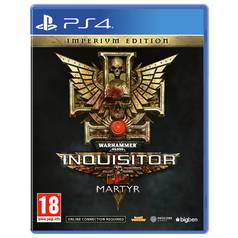 WH40K Inquisitor Martyr Imperium Edition PS4 Pre-Order Game