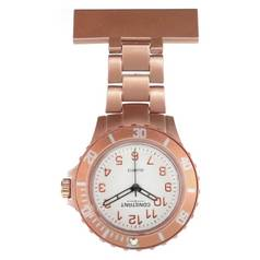 Constant Rose Coloured Sports Style Fob Watch