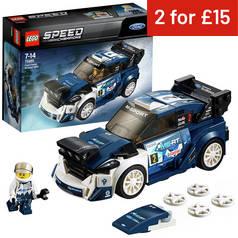 LEGO Speed Champions Ford Fiesta MSport WRC Toy Car