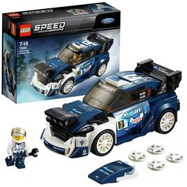 LEGO Speed Champions Ford Fiesta MSport WRC Toy Car - 75885