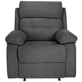Argos Home June Fabric Manual Recliner Chair - Charcoal