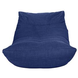 Argos Home Fabric Lounger Chair - Navy