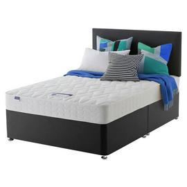 Silentnight Travis Microquilt Divan Bed - Small Double