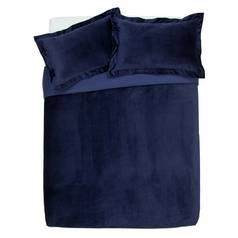 Argos Home Midnight Opulence Velvet Bedding Set - Superking