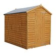 more details on Mercia Overlap Windowless Shed - 7 x 5ft
