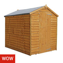 Mercia Overlap Windowless Shed - 7 x 5ft