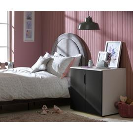 Argos Home Pod 2 Door Cabinet - Blackboard