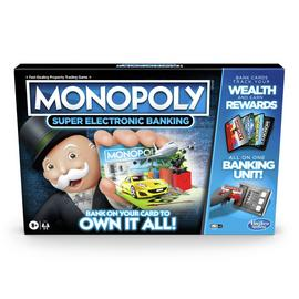 Monopoly Super Electronic Banking from Hasbro Gaming