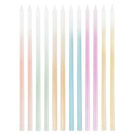 Ginger Ray Tall Ombre Cake Candles