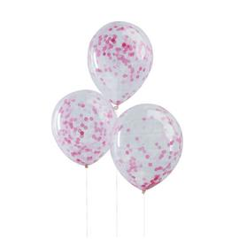 Ginger Ray Pink Confetti Balloons