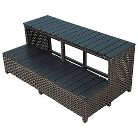 Canadian Spa Company Wicker Spa Step 96 inch