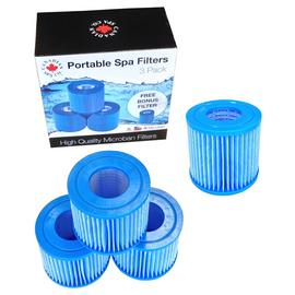 Canadian Spa Company Portable Filter Set - 4 Pack