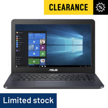 Asus Vivobook E402 14 Inch AMD E2 4GB 128GB Laptop - Navy