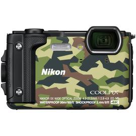 Nikon Coolpix W300 16MP 5x Zoom Compact Camera - Camo